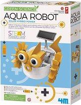 Направи си сам - Воден робот с хибриден соларен панел - играчка