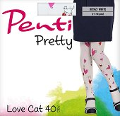 Детски чорапогащник - Pretty: Love Cat -