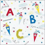 Салфетки за декупаж - ABC