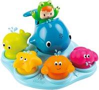 Играчки за баня - Морски обитатели -