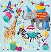 Салфетки за декупаж - Рожден ден - Пакет от 20 броя