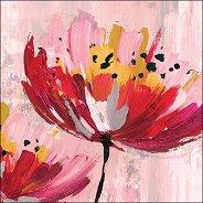 Салфетки за декупаж - Арт цвете - Пакет от 20 броя