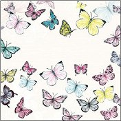 Салфетки за декупаж - Пеперуди