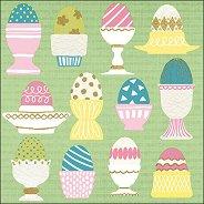 Салфетки за декупаж - Великденски яйца