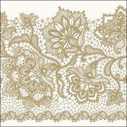 Салфетки за декупаж - Златна Глория - Пакет от 20 броя