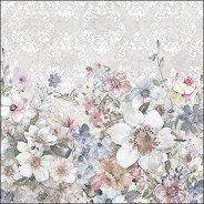 Салфетки за декупаж - Летни цветя - Пакет от 20 броя