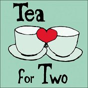 Салфетки за декупаж - Чай за двама - Пакет от 20 броя