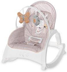Бебешки шезлонг 2 в 1 - Enjoy 2021 - С вибрация и мелодии - продукт