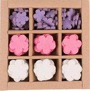 Фигурки от филц - Цветя