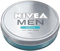 Nivea Men Fresh - Освежаващ гел крем за мъже - дезодорант