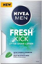 Nivea Men Fresh Kick After Shave Lotion - Освежаващ афтършейв лосион  - дезодорант