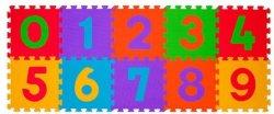 Цифри - Детски пъзел-килим с меки елементи -