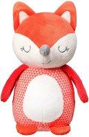 Лисицата Винсънт - Плюшена играчка с дрънкалка -