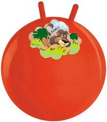 Детска топка за скачане - Лъв - С диаметър 50 cm -