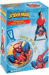 """Детска топка за скачане - Спайдърмен - С диаметър 45 cm от серията """"Спайдърмен"""" -"""