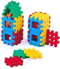 Детски конструктор с вафлени блокчета - играчка