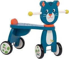 """Пантерата Зимба - Детска дървена играчка за яздене от серията """"Dans la jungle"""" -"""