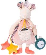 """Мишле - Mimi - Активна плюшена играчка за бебе от серията """"Dans la jungle"""" -"""