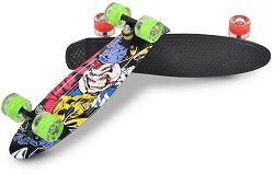 Пениборд - Graffiti LED - Детски скейтборд с LED светлини и размери 57 x 15 cm -