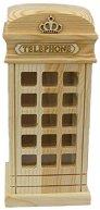 Дървена касичка - Телефонна кабина