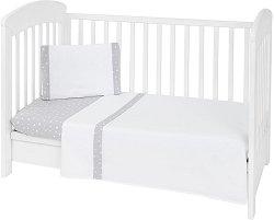 Бебешки спален комплект от 3 части - Joyful Mice EU Stile -