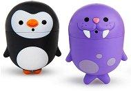 Морж и пингвин -