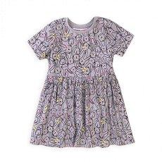"""Бебешка рокля - 100% памук от серията """"MINOTI Basics"""" -"""