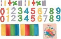 Научи цифрите и часа -