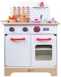 Дървена детска кухня - играчка
