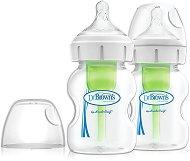 Бебешки шишета за хранене с широко гърло - Options+ 150 ml -