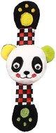 Плюшена дрънкалка-гривна - Панда -