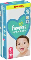 Pampers Active Baby 4+ -