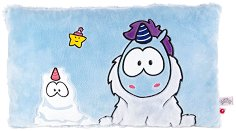 Плюшена възглавница - Теодор и приятели - играчка