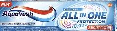 Aquafresh All in One Protection Original - Паста за зъби за цялостна защита - паста за зъби