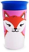 Неразливаща се преходна чаша - WildLove: Fox 266 ml -