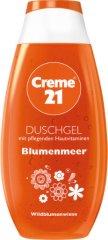 Creme 21 Blumenmeer Shower Gel - Душ гел с аромат на диви цветя - крем
