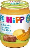 HiPP - Био пюре от картофи с тиква и телешко - Бурканче от 190 g за бебета над 5 месеца -