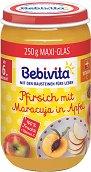 Bebivita - Био пюре от праскови с маракуя и ябълка - продукт