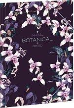 Папка с ластик - Botanic Orchid - Формат A4