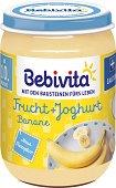 Bebivita - Био плодов дует от йогурт с банани - пюре