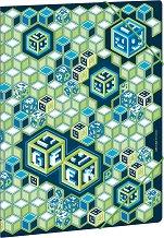 Папка с ластик - Geek - Формат A4