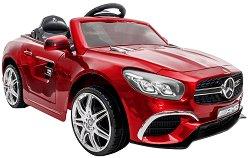 Детска акумулаторна кола - Mercedes SL63 Metallic -