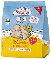 FruchtBar - Бебешки бисквити със спелта и ябълка -