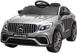 Детска акумулаторна кола - Mercedes GLC 63 S AMG Metallic -