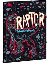 Папка с ластик - Raptor