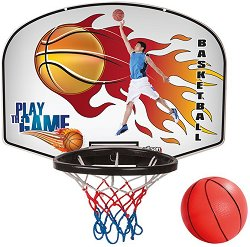 Баскетболен кош с дартс -