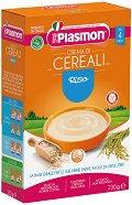 Plasmon - Инстантна безмлечна каша с ориз - продукт