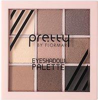Pretty by Flormar Eyeshadow Palette - продукт