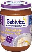 """Bebivita - Био млечна каша """"Лека нощ"""" с грис, банан и ябълка -"""