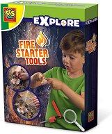 Инструменти за запалване на огън - образователен комплект
